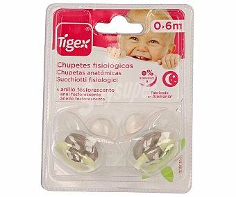 Tigex Chupete silicona 1 unidad