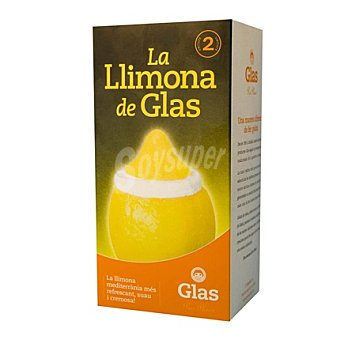 Glas Helado limón 2 ud