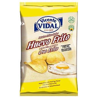Vicente Vidal Patatas fritas sabor huevo frito Bolsa 135 gr