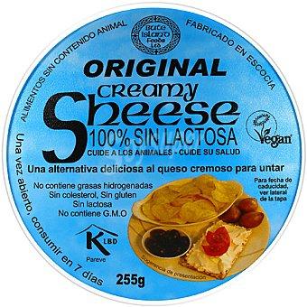 SHEESE Creamy Original Queso vegetal para untar 100% sin lactosa Envase 255 g