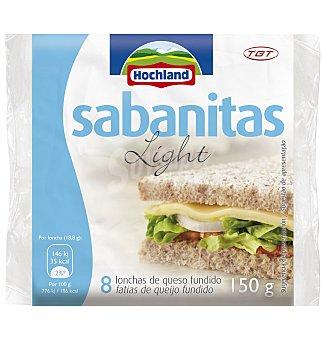 Sabanitas Hochland lonchas light 150 G