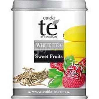 Cuida Té Té blanco fresa y plátano 100 g