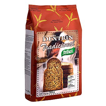 Santiveri pan tostado integral de molde bajo en sal con aceite de oliva Dextrin Envase 300 g