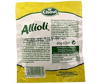 Chovi Salsa alioli fresca Bolsa 62 ml