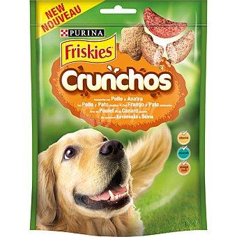 Purina Friskies Crunchos galletas para perro con pollo y pato bolsa 110 g Bolsa 110 g