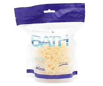 Suavipiel Esponja de baño hipoalergénica tipo mousse, suave y para todo tipo de pieles suavipiel