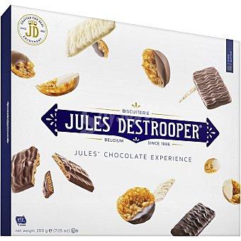 Jules destrooper Galletas surtido chocolate estuche 200 g estuche 200 g