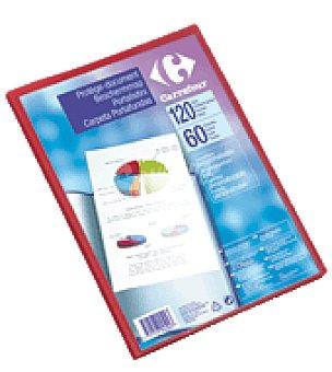 Carrefour Carpeta de fundas personalizable A4 60 fundas