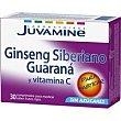 Ginseng con guarana en comprimidos Caja 30 unid Juvamine