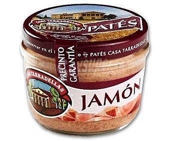 Casa Tarradellas Paté de jamón Tarro 125 g