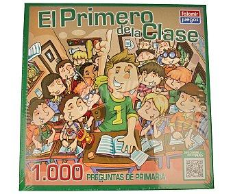 FALOMIR JUEGOS Juego de mesa de preguntas y respuestas, El primero de la clase 1000 preguntas de primaria, más de 2 jugadores 1 unidad