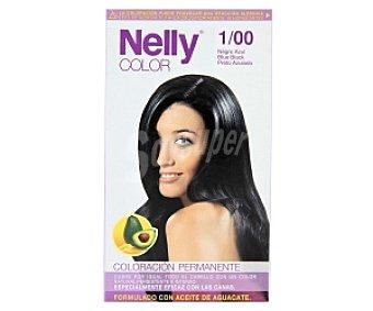 NELLY Color Tinte en Crema Negro 1/00 1 Unidad