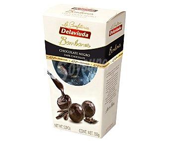 Delaviuda Bombones de chocolate negro 150 g