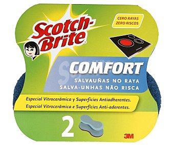 Scotch Brite Salvauñas No Raya Confort Especial Vitrocerámicas 2u