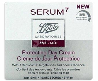 BOOTS SERUM7 Crema antiedad día, piel seca 50ml