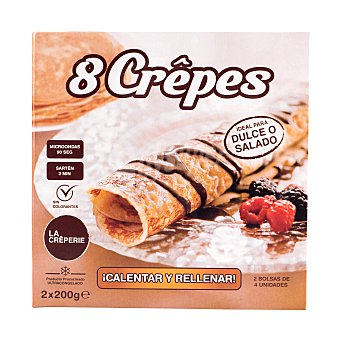 Congalsa Crepes naturales Pack 8 x 50 g