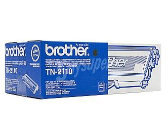 BROTHER Toner TN2110, Negro, compatible con impresoras: DCP-7030, DCP-7040, DCP-7045N, HL-2140, HL-2150N, HL-2170W, MFC-7320, MFC-7440N, MFC-7840W