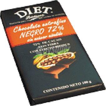 Diet Rádisson Choco.negro D. S/AZ.72%CACAO 100 GRS