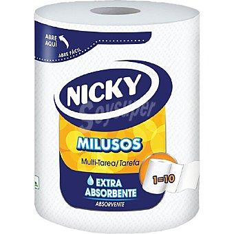 Nicky Papel de cocina compacto milusos Paquete 1 rollo