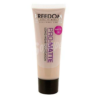 Freedom Maquillaje Foundation Pro-Matte 04 1 ud