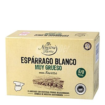 De nuestra tierra Espárrago blanco abre fácil 6/8 250 g