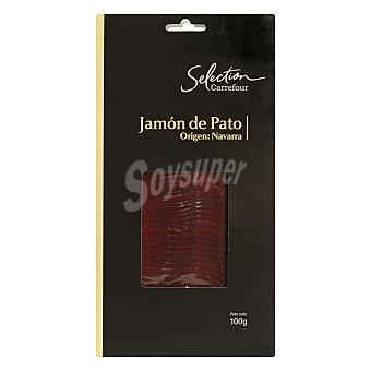 Carrefour Selección Jamón de pato en lonchas- Sin Gluten 100 g