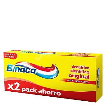 Binaca Dentífrico triple protecion Pack de 2x75 ml
