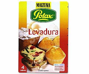 Maizena Levadura Pack de 4 unidades 38 gramos