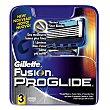Recambio  5 hojas manual Paquete 3 u Gillette Fusion Proglide