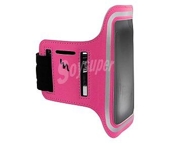 TNB SPPACKPK Funda Universal con auriculares deportivos, rosa