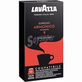 Lavazza Café espresso armónico Caja 10 monodosis