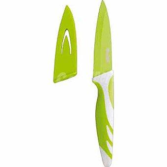 IBILI Cuchillo de cocina antiadherente en color verde