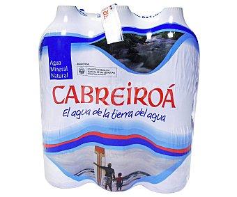 Cabreiroá Agua Mineral Pack 6 Botellas de 1,5 Litros