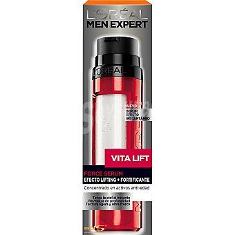 L'OREAL MEN EXPERT Vita Lift serúm efecto instantáneo efecto lifting + fortificante dosificador 50 ml concentrado en activos anti-edad Dosificador 50 ml