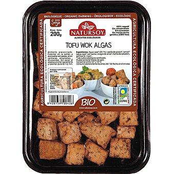 Natursoy bio tofu wok con algas Bandeja 200 g