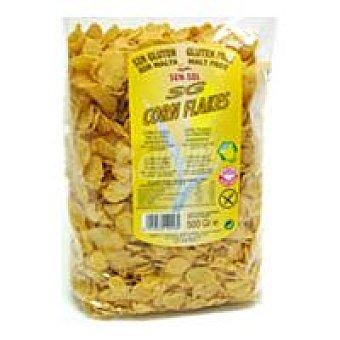 Sun-sol Corn Flakes sin gluten Bolsa 375 g