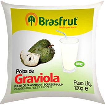 Brasfrut pulpa de guanabana bolsa 100 g