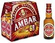 Cerveza Especial Pack 6x25 cl Ambar
