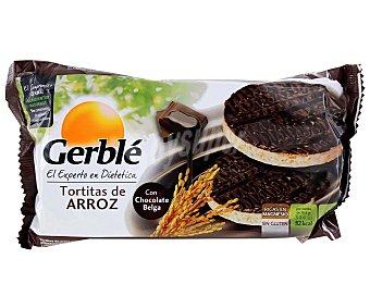 Gerblé Tortitas de Arroz de Chocolate Negro 103 Gramos