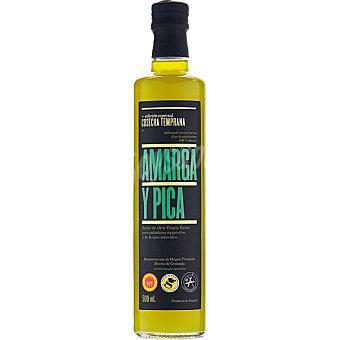 Amarga Y pica aceite de oliva virgen extra Edición Especial Cosecha Temprana DOP Montes de Granada Botella 500 ml