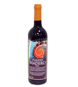 Puerto Madero Vino tinto sin alcohol 75 cl