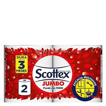 SCOTTEX Rollo de cocina Jumbo multiusos  envase 2 unidades