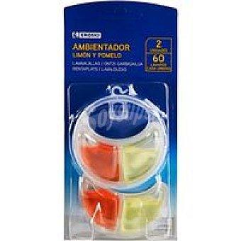 Eroski Ambientador vajillas limón Pack 2 unid