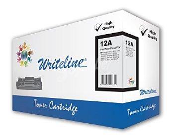 WRITELINE Tóner compatible Q2612A, Negro, aprox. 2000 paginas, compatible con impresoras HP: laserjet 1010, 1012, 1015, 1018, 1020, 1022, 1022N,1022NW, 3015mfp, 3020mfp, 3030mfp, 3050mfp, 3052mfp,3055mfp, 3050z, M1005mfp