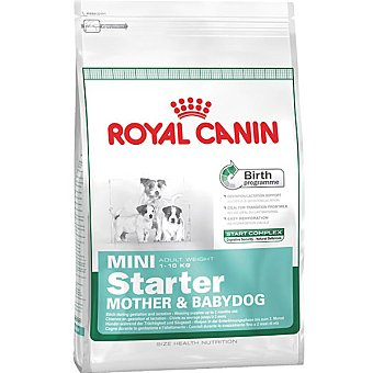ROYAL CANIN MINI STARTER Producto especial para madres y cachorros de raza mini hasta 2 meses de edad bolsa 1 kg Bolsa 1 kg