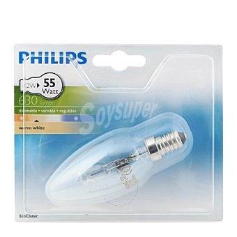 Philips Bombilla ecoclassic 42WE14VELA 230V B35