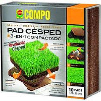 Compo Pad Césped Caja 10 unid