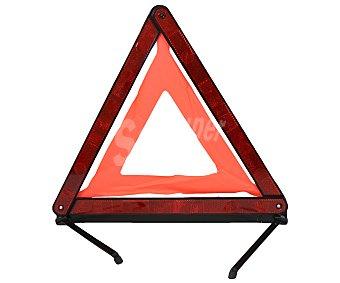 ROLMOVIL Triángulo de avería o emergencia, homologado que se puede plegar quedando guardado en un práctico y reducido estuche 1 unidad
