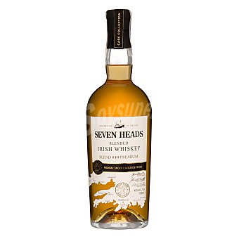 Seven Whisky irlandes heads Botella 700 ml
