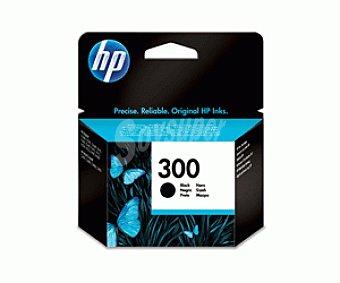 HP Cartuchos de Tinta 300 Negro HP (CC640E) 1 Unidad - Compatible con las Impresoras: HP Deskjet D1660 / D2560 / D2660 / D5560 / F2420 / F2480 / F2492 / F4210 / F4224 / F4272 / F4280 / F4580 / 1 Unidad